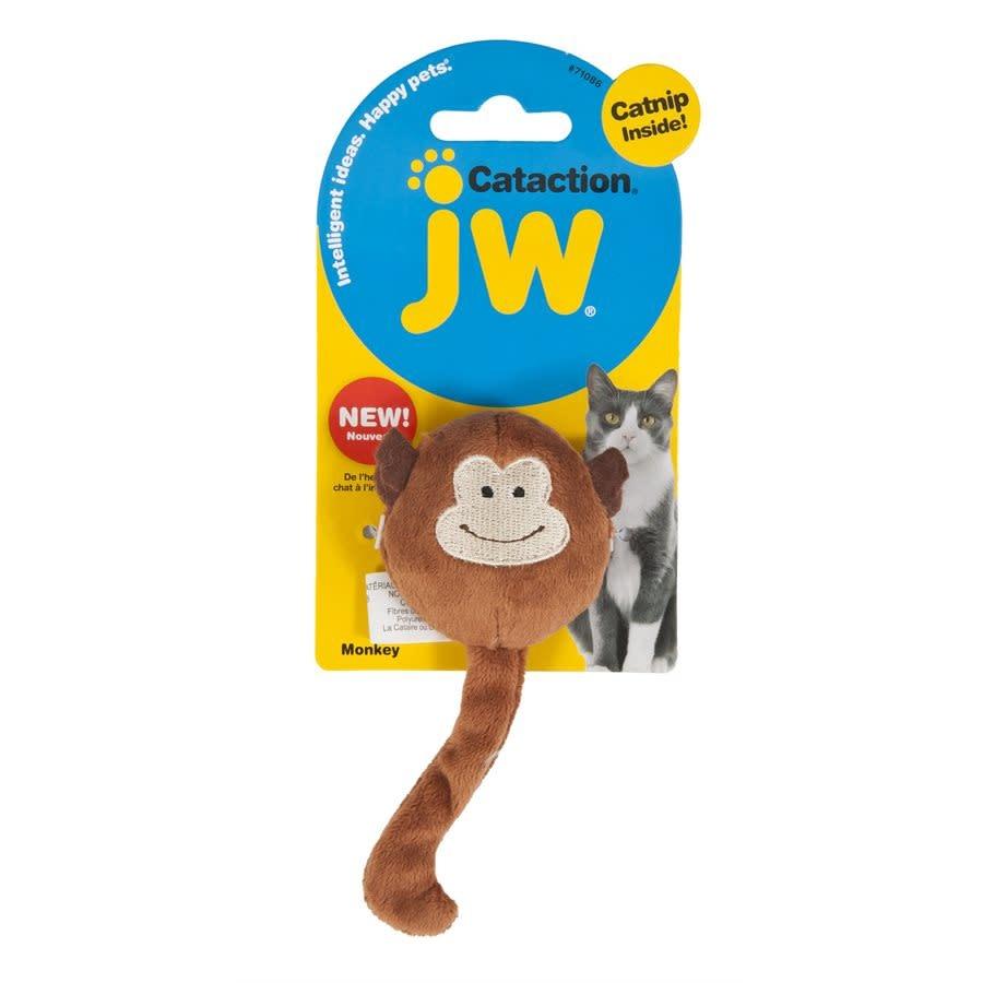 JW Singe en peluche Cataction