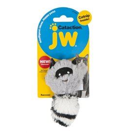 JW Peluche raton laveur Cataction