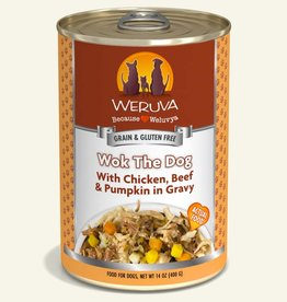 Weruva Wok the dog, 400g
