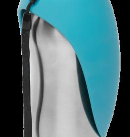 Messy Mutts Bouteille d'eau avec bol intégré, Bleu