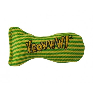 Ducky World Jouet d'herbe à chat Yeowww, Sardine  rayée