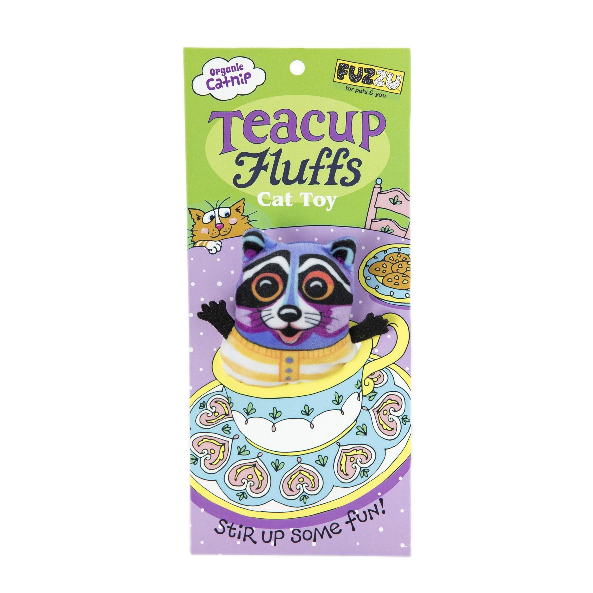 Fuzzu Teacup Fluffs Raccoon