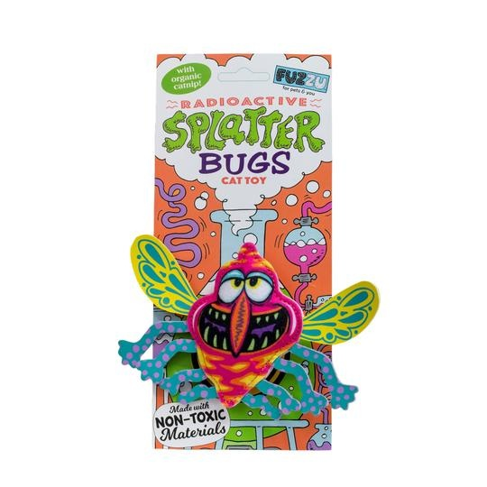 Fuzzu Radioactive Splatterbugs Zinger