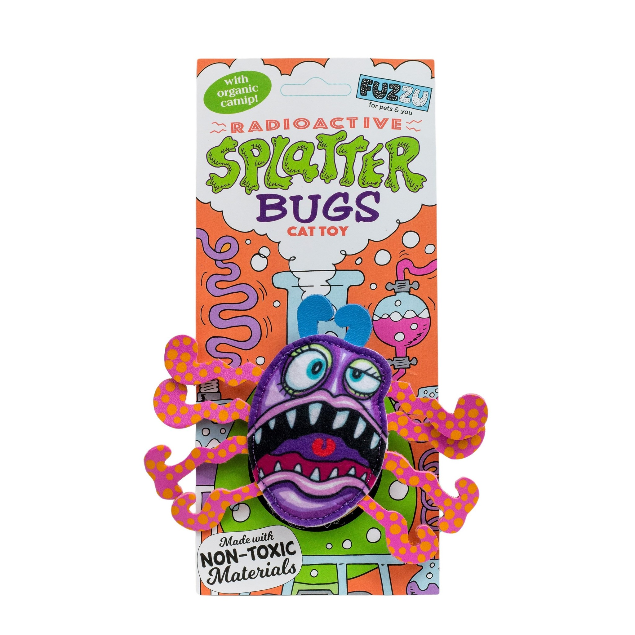 Fuzzu Radioactive Splatterbugs Frazz