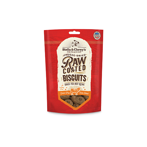 Stella & Chewy`s Biscuits Raw Coated, Boeuf