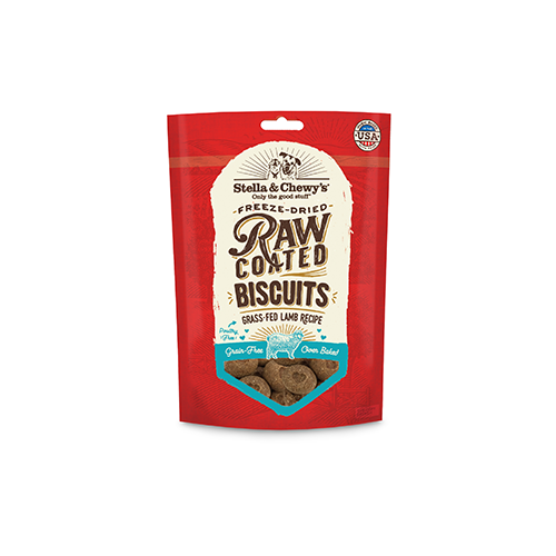 Stella & Chewy`s Biscuits Raw Coated, Agneau