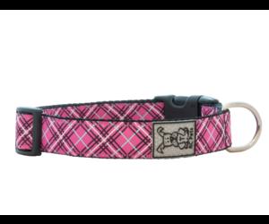 RC Pets Collier clip, Tartan rose