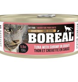 Boréal Conserve Thon Rouge & Crevettes en sauce