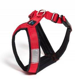 Nahak Harnais ajustable pour chien de 15 à 29lbs, Rouge