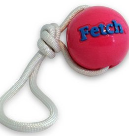 Planet Dog Orbee Balle Fetch/Corde, Rose