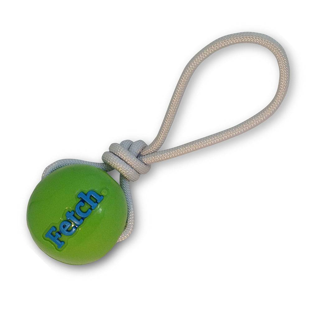 Planet Dog Orbee Balle Fetch/Corde, Vert