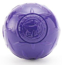 Planet Dog Orbee Diamond Plate Balle, Violet