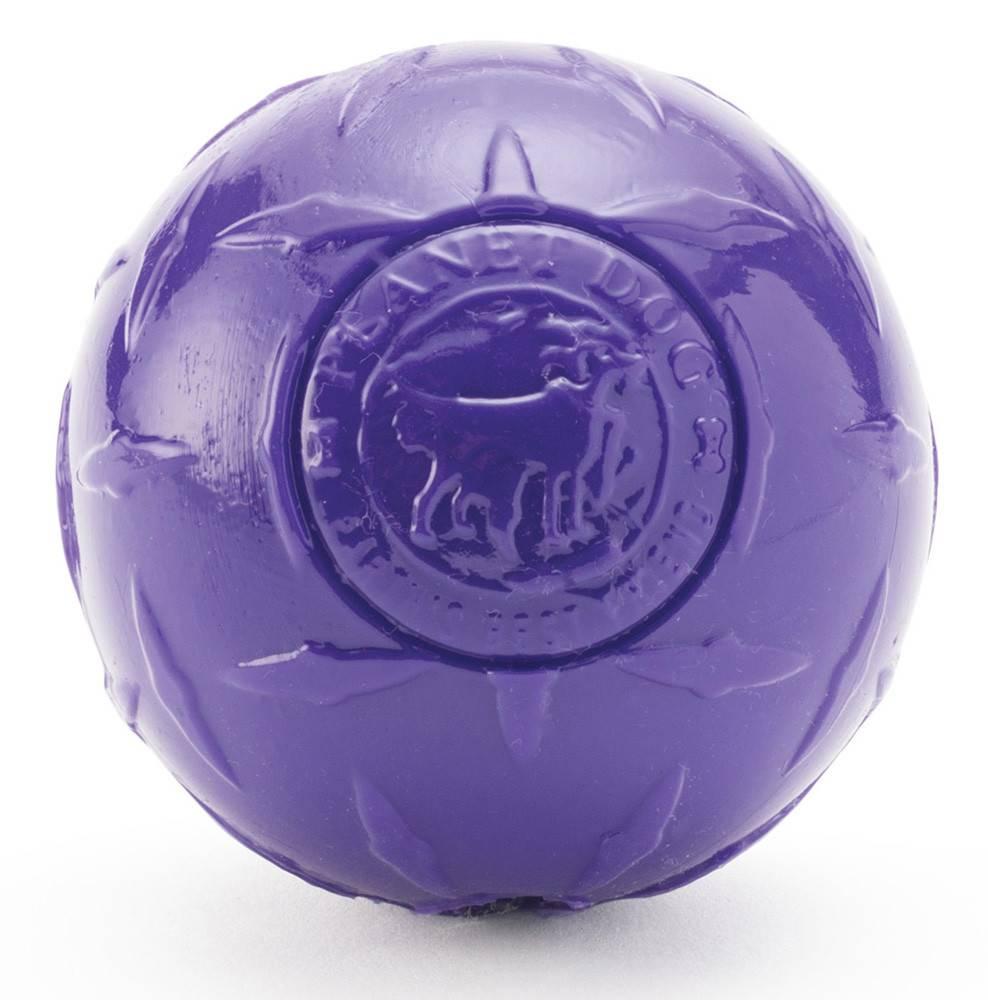 Planet Dog Orbee Diamond Plate Balle, Violet