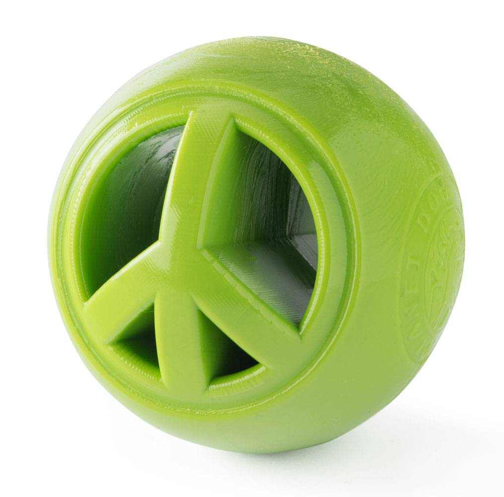 Planet Dog Orbee Tuff-Nooks, green peace