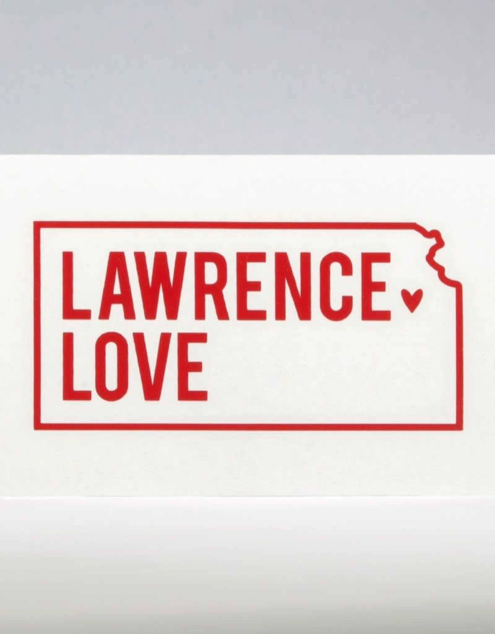 Inkello + Smiling Mad Lawrence Love Vinyl Decal
