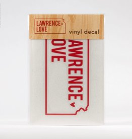 Inkello + Smiling Mad Lawrence Love Vinyl Decal (Web)