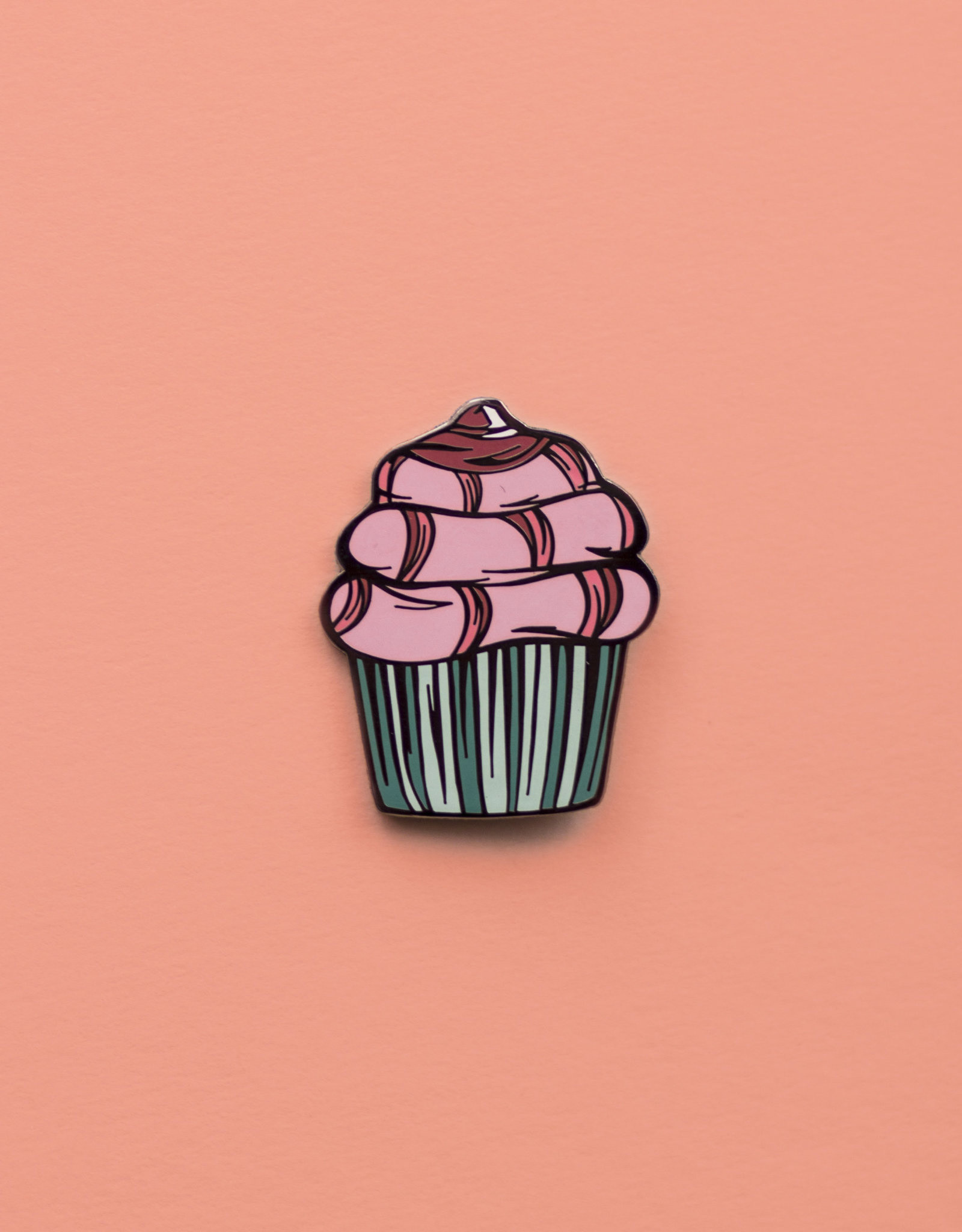 Kaitlin Ziesmer Dirty Desserts Enamel Pins by Kaitlin Ziesmer
