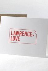 Inkello + Smiling Mad Lawrence Love Letterpress Greeting Card