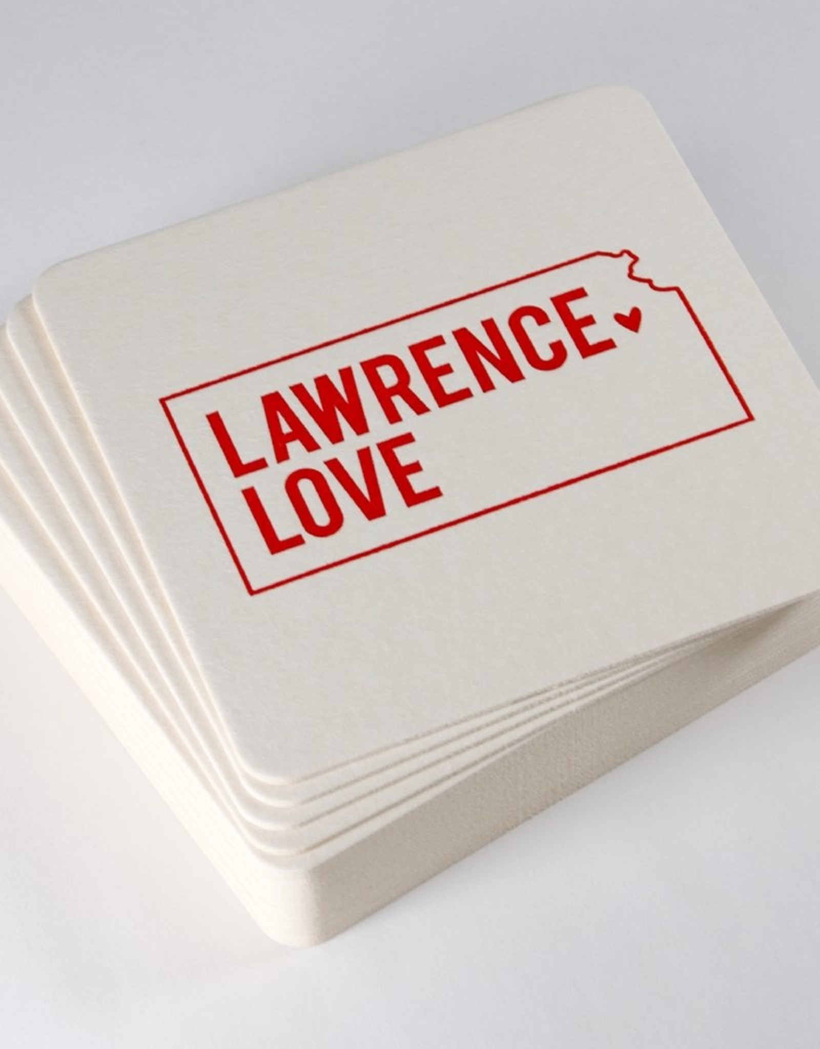 Inkello + Smiling Mad Lawrence Love Coasters (set of 20)