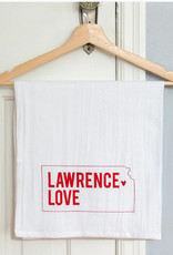 Inkello + Smiling Mad Lawrence Love Tea Towel