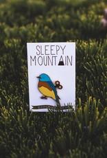 Sleepy Mountain Enamel Pins by Sleepy Mountain