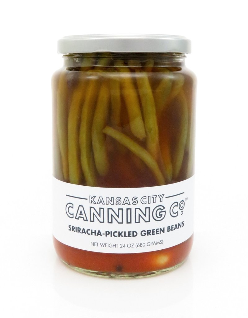 Kansas City Canning Co. Sriracha Pickled Green Beans by Kansas City Canning Co.