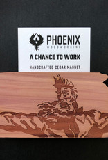 Phoenix Woodworking Phoenix Woodworking Cedar Magnets