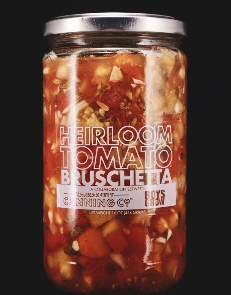 Kansas City Canning Co. Heirloom Tomato Bruschetta by Kansas City Canning Co.