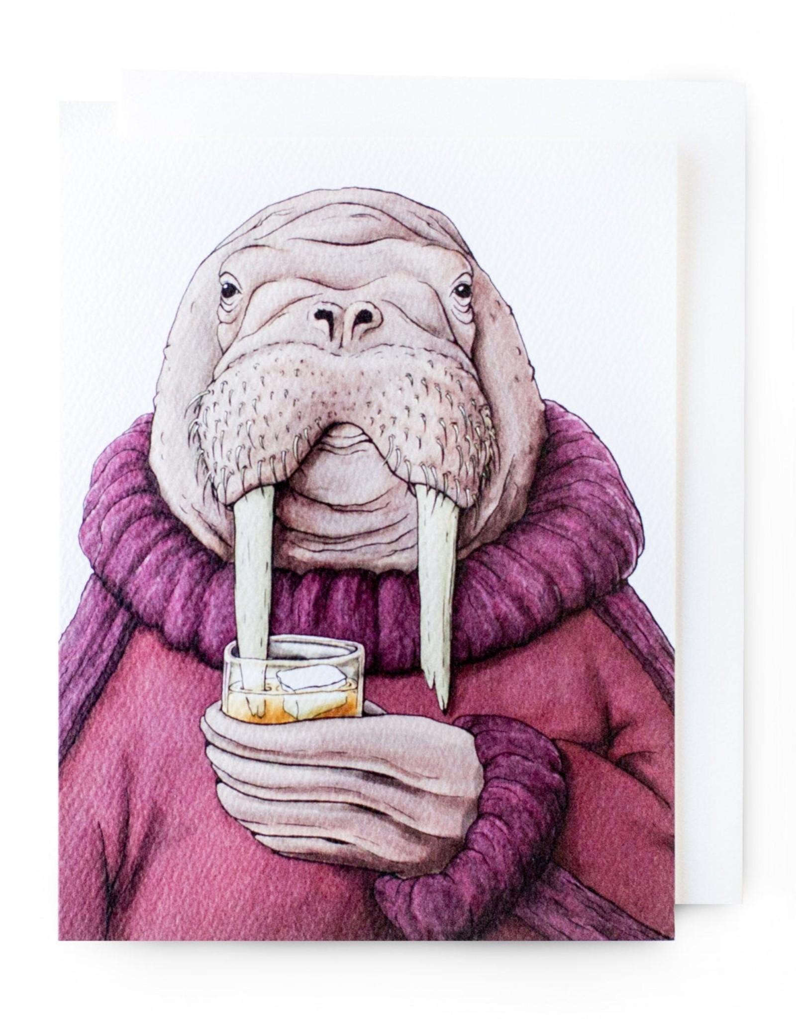 Serious Creatures Greeting Cards by Serious Creatures