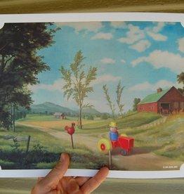 Jason Jones Art 11x14 Altered Thrift Store Prints by Jason Jones Art