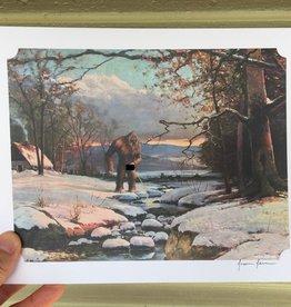 Jason Jones Art 8x10 Altered Thrift Store Prints by Jason Jones Art