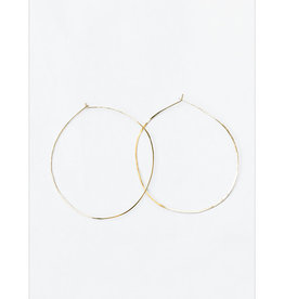 sara forrest design Gold Filled Hammered Hoops by Sara Forrest Design