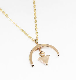 sara forrest design Arc + Triangle Pendant by Sara Forrest Design