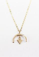 sara forrest design Arc + Triangle Pendant by Sara Forrest Design