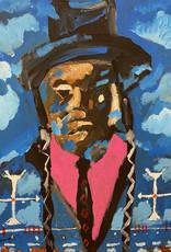 Travis Mammedaty Walks In The Clouds // Original Painting by Travis Mammedaty