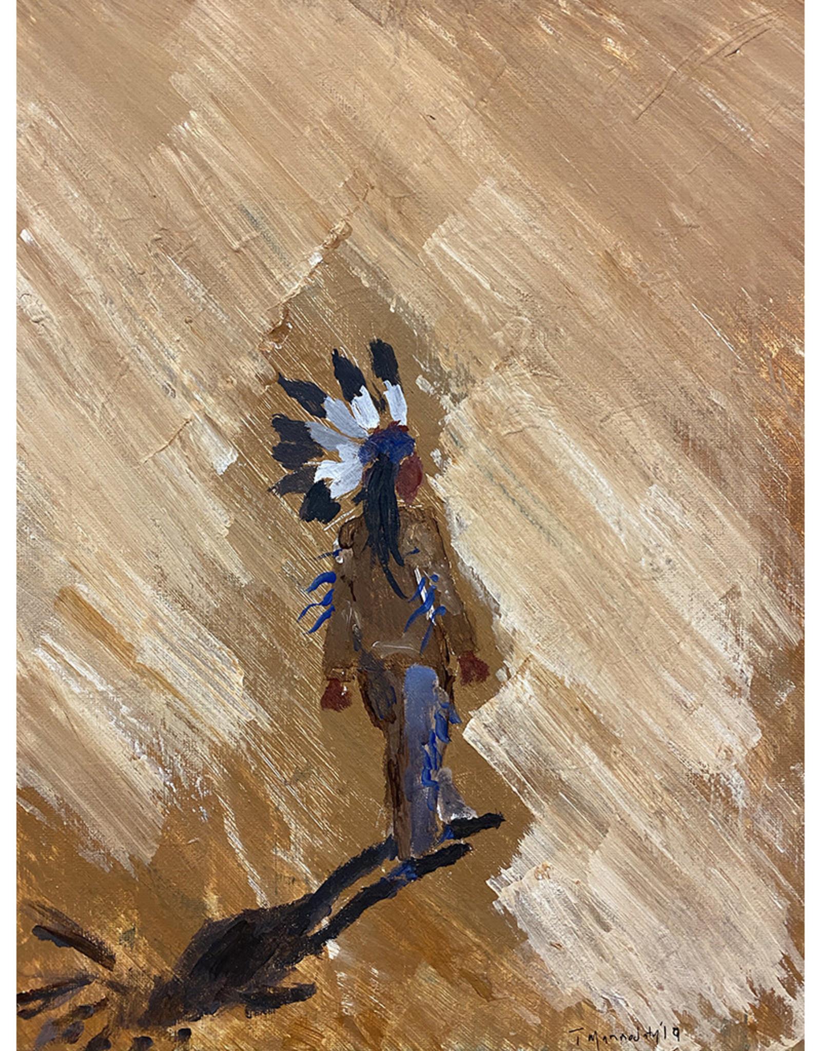 Travis Mammedaty Towards The Dawn // Original Painting by Travis Mammedaty