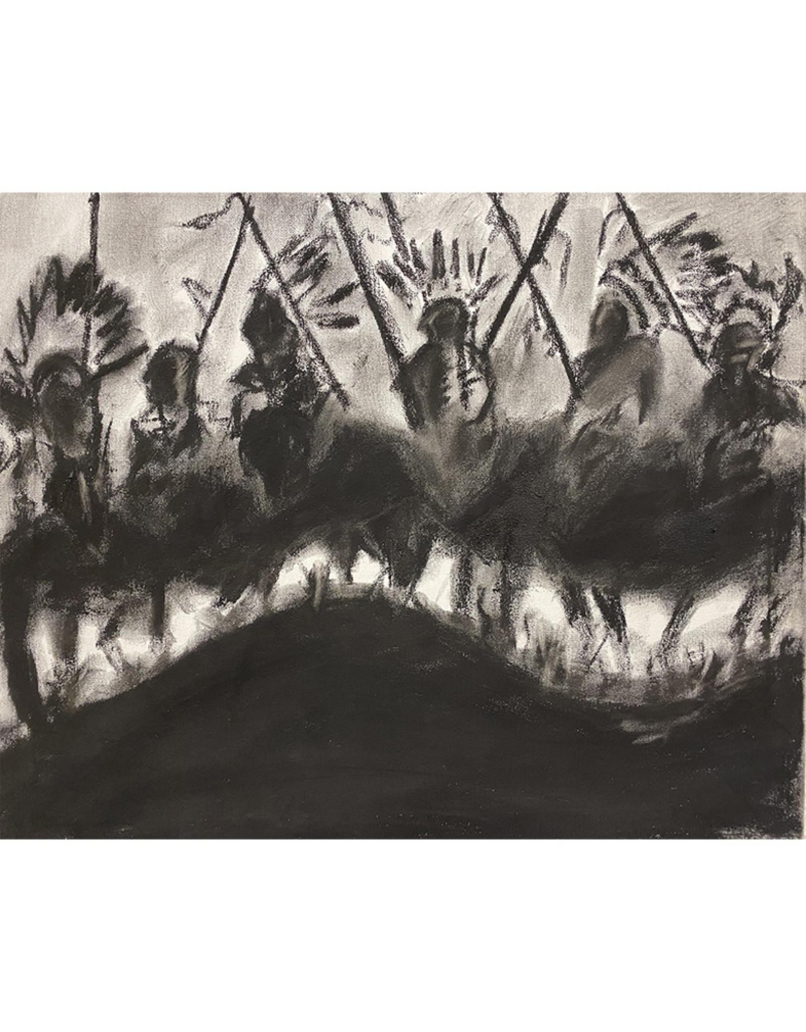 Travis Mammedaty Midnight Raid // Original Painting by Travis Mammedaty