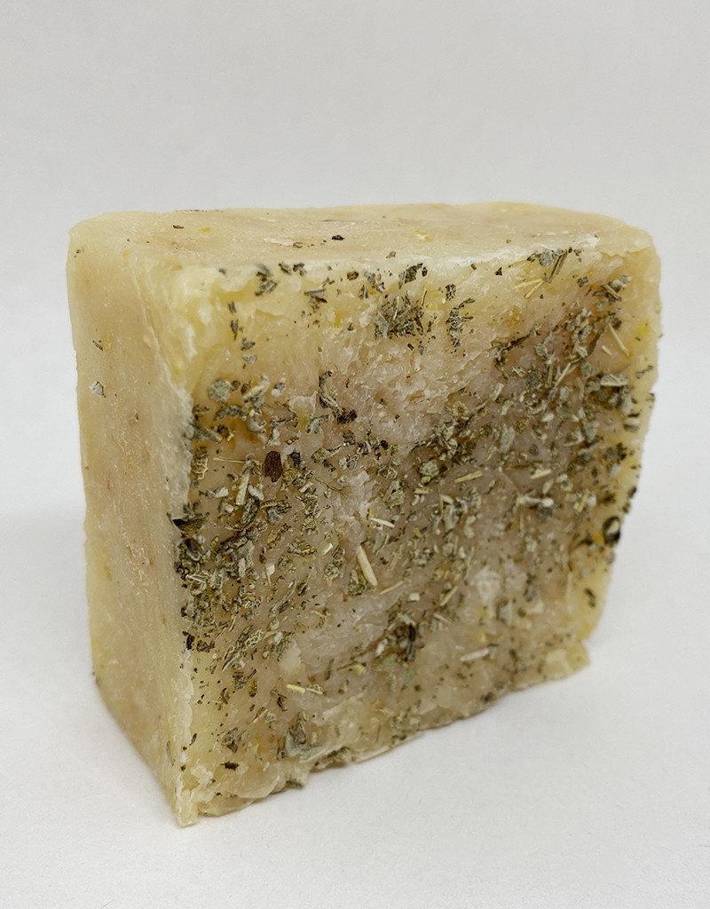 b.e. nurtured Lemon Sage Scrub Soap by b.e. nurtured