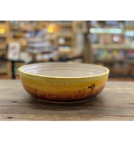 Melanie Harvey Pottery Prairidise Large Bowl by Melanie Harvey