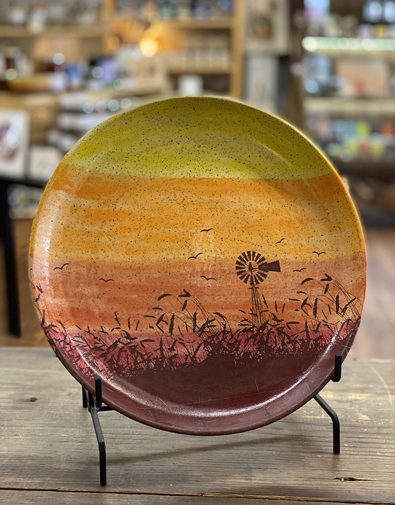 Melanie Harvey Pottery Prairidise Large Platter by Melanie Harvey