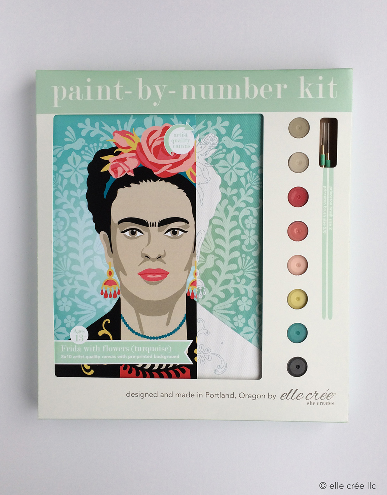 Elle Cree More Paint by Number Kits by Elle Cree