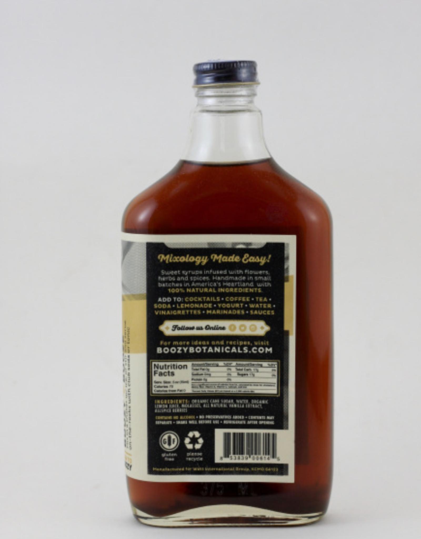 boozy botanicals Infused Organic Syrups by Boozy Botanicals