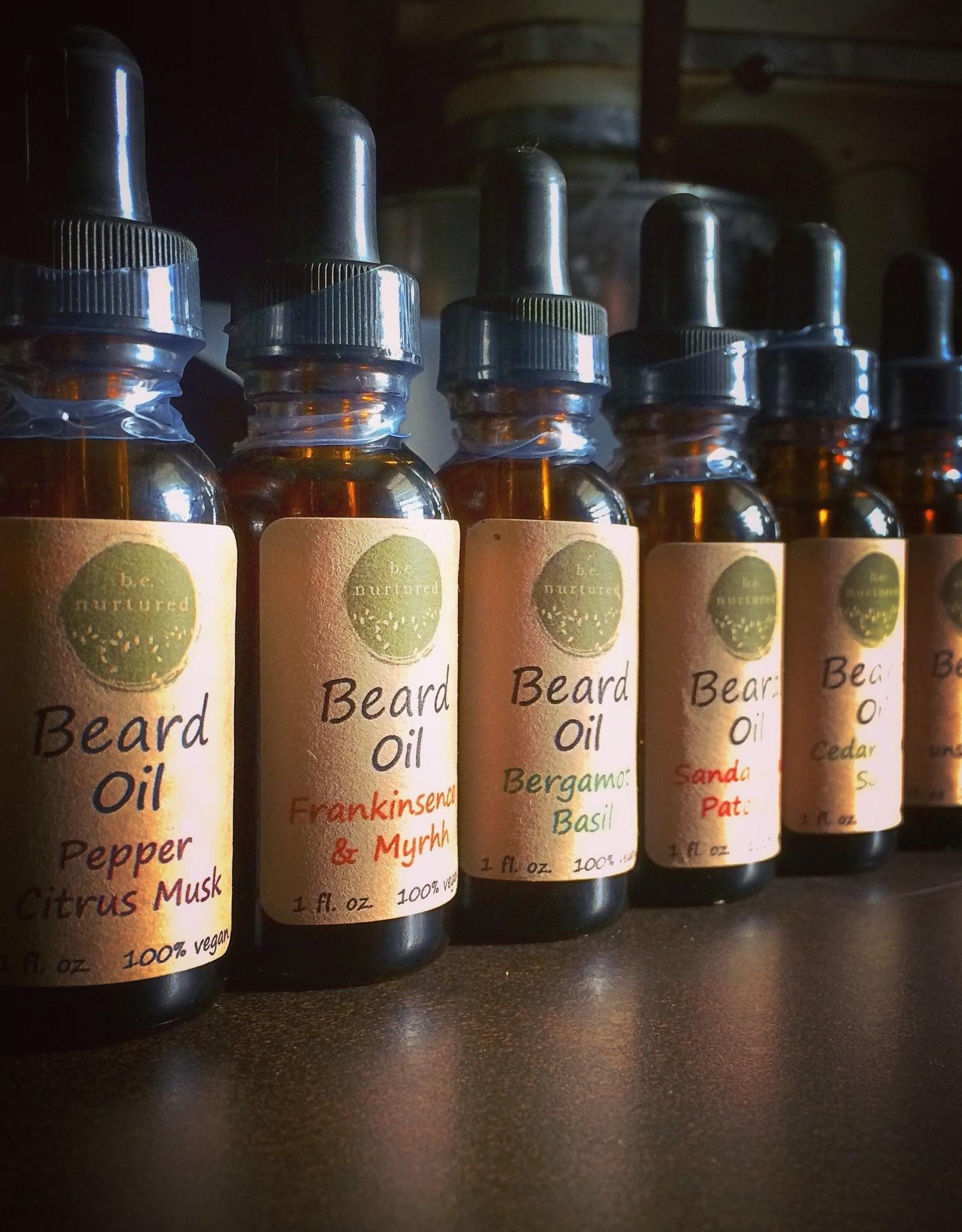 b.e. nurtured Beard Oils by b.e. nurtured