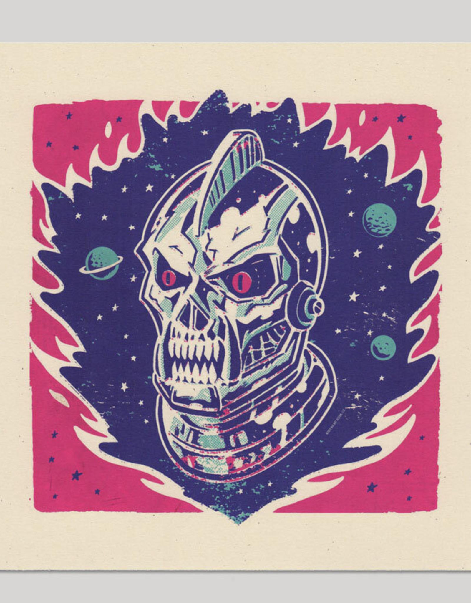 Big Bot Designs Atomic Shock Mecha Monster Print