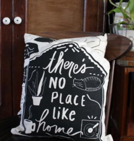 Yonder Studios No Place Like Home Pillow by Yonder Studios