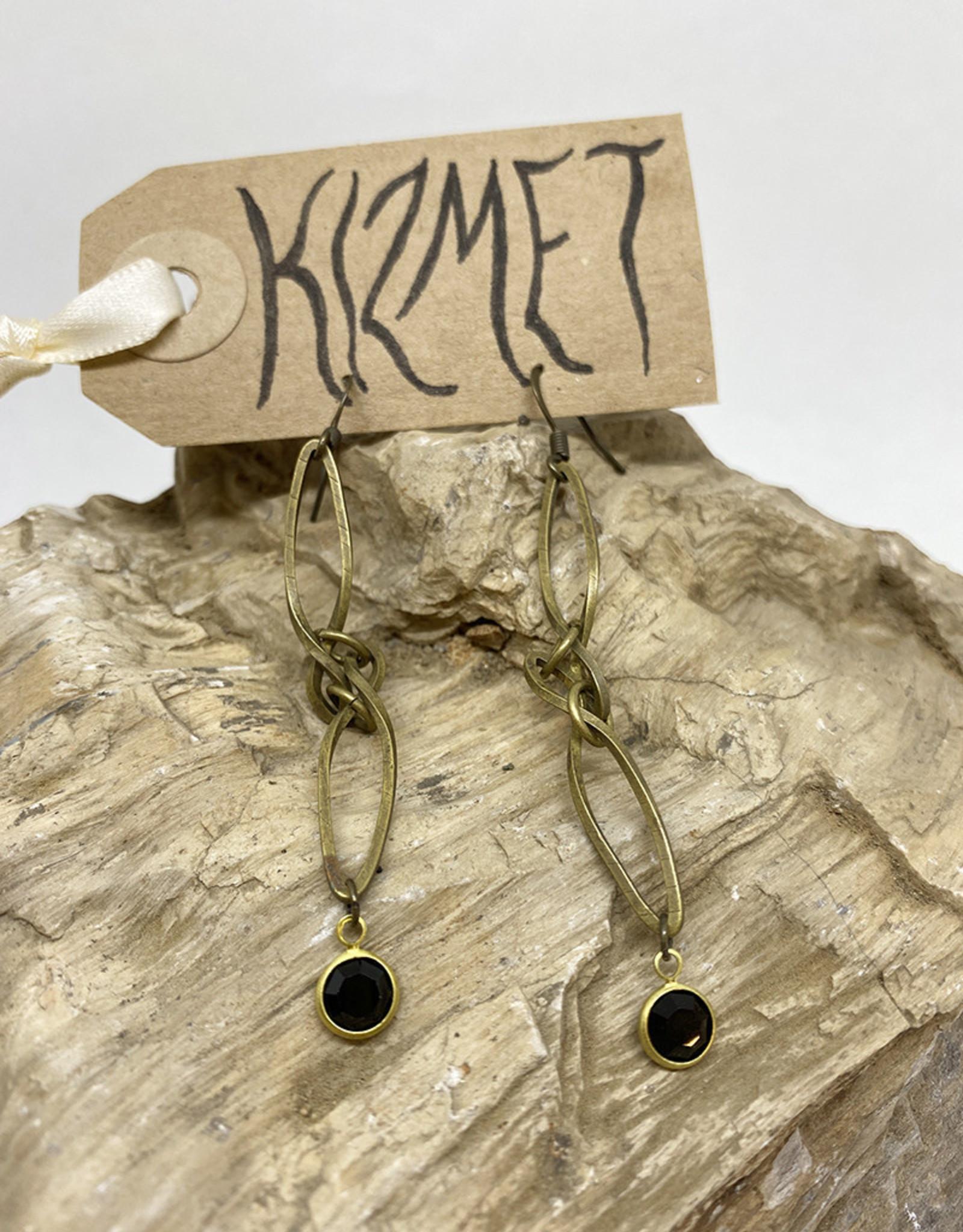 kizmet jewelry Swarovski Drop Earrings by Kizmet Jewelry