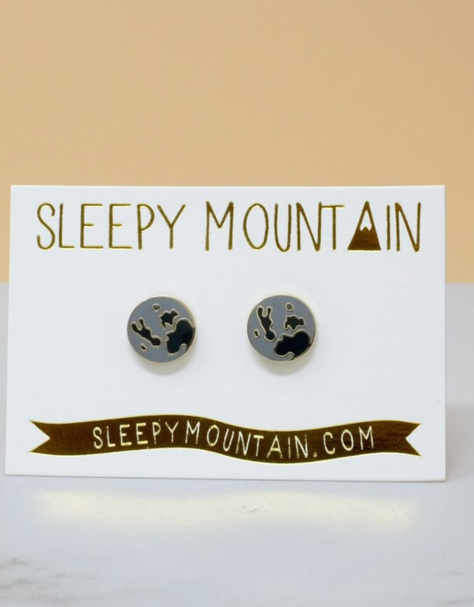 Sleepy Mountain Assorted Gold Plated Earrings by Sleepy Mountain // 2