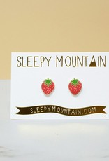 Sleepy Mountain Assorted Gold Plated Earrings by Sleepy Mountain // 2