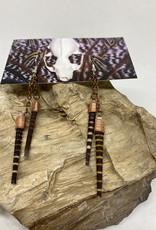 Perilin Jewelry Urchin Earrings by Perilin Jewelry