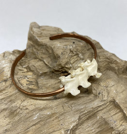 Perilin Jewelry Vertebrae Cuff Bracelet by Perilin Jewelry